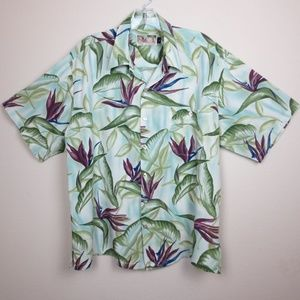 Vintage Tori Richard Hawaiian Shirt Size Large